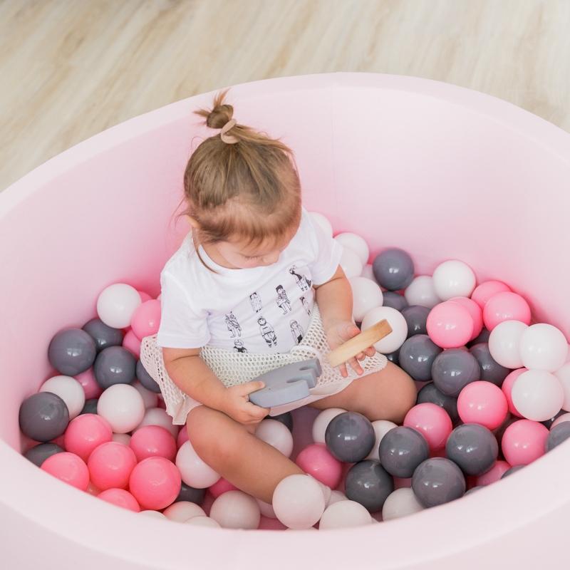 Пластиковые мягкие шарики для сухого бассейна
